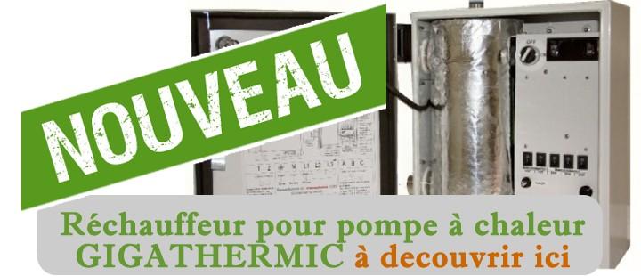 réchauffeur pour pompe à chaleur